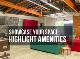 Showcase Your Space Amenities