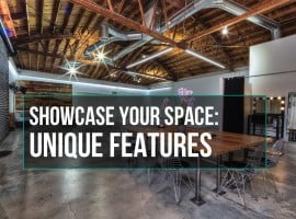 Showcase Your Space Features