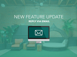 New Feature Update - Reply Via Email