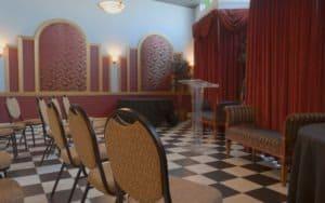 Historic Theater Reception Room