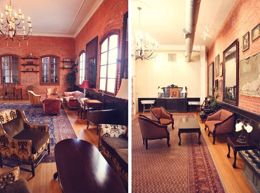 carondelet living room