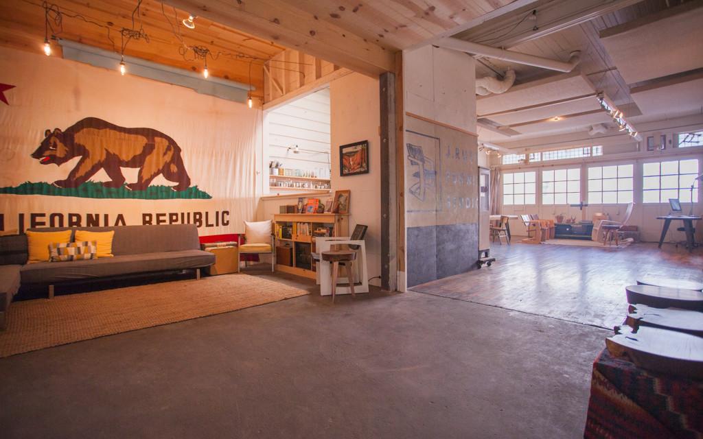 rustic wood gallery