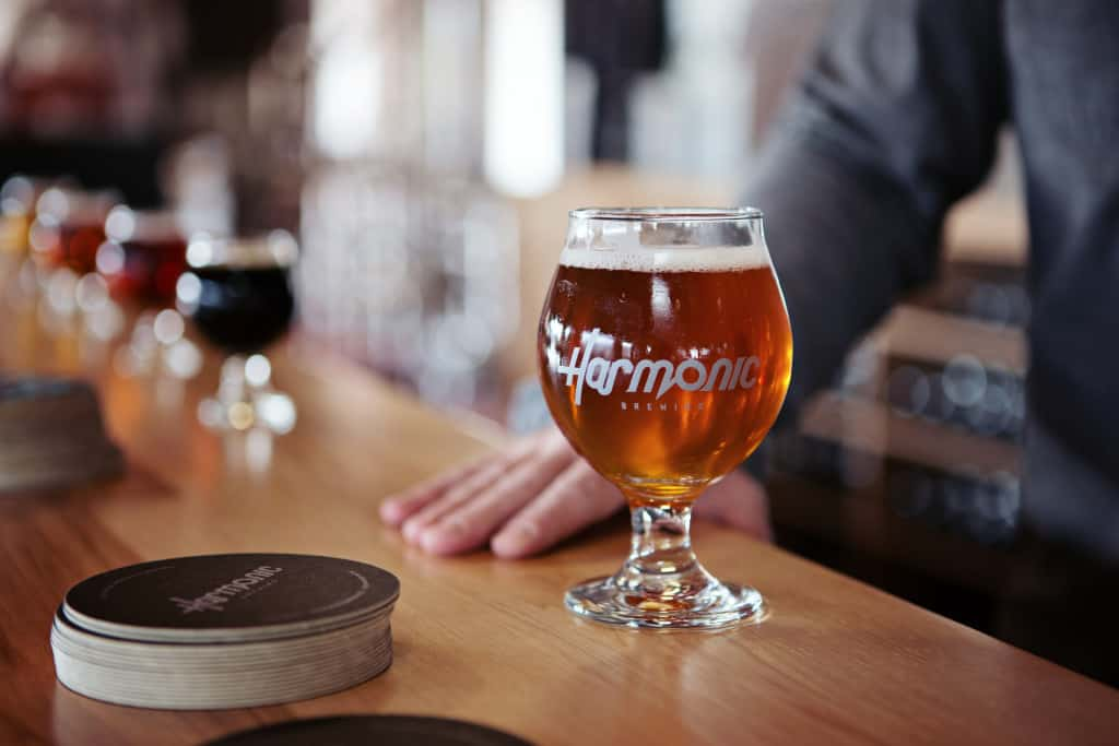Small business marketing, brewery event space
