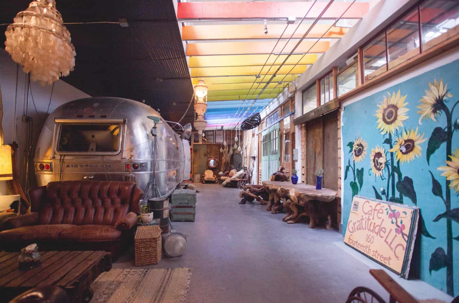Unusual venues: Airstream