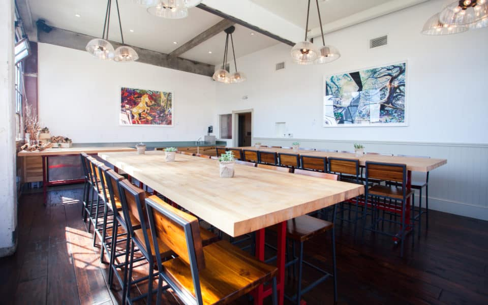 Book this industrial chic offsite venue.