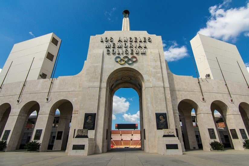 An Athlete's Dream, The LA Coliseum