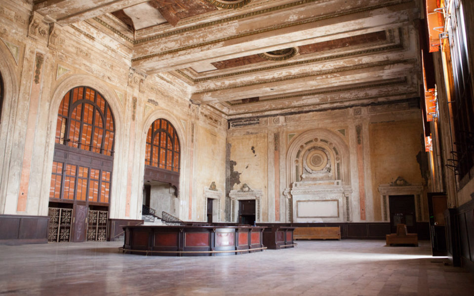 Historic Train Station in Oakland