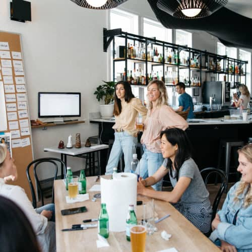 Brainstorming in a Brewery: Inside Freda Salvador's Unconventional Offsite | Peerspace