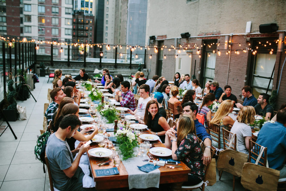 Blue Apron Dinner Party in a Peerspace