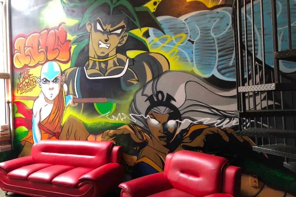 downtown comic book loft atlanta rental