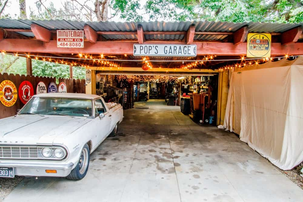 vintage car garage los angeles rental