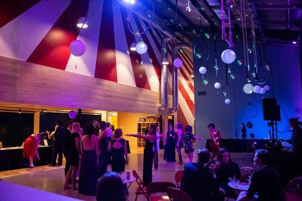 dance and aerial studio austin rental