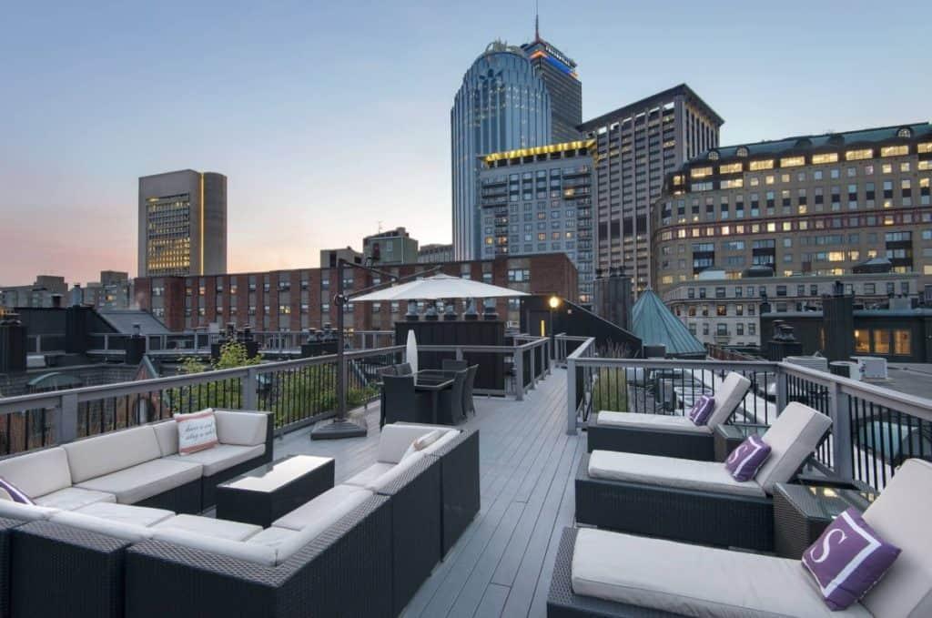 rooftop deck boston rental