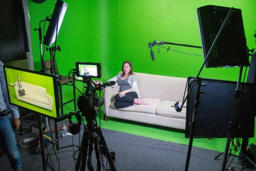 professional green screen studio dallas rental