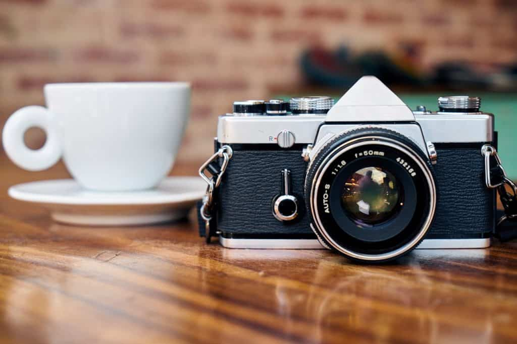 camera coffee