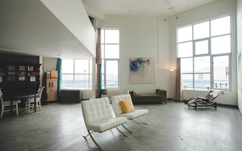 artists sky loft sf san francisco rental