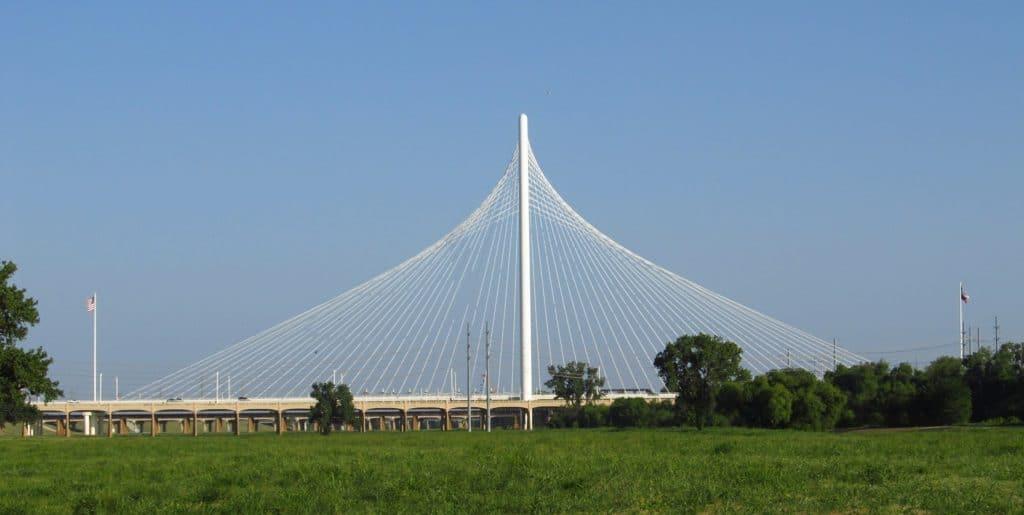 Margaret Hunt Hill Bridge dallas texas