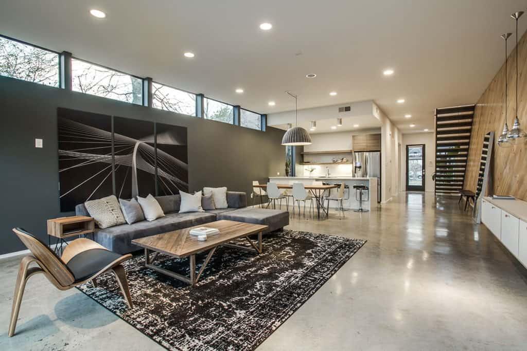 modern home dallas rental