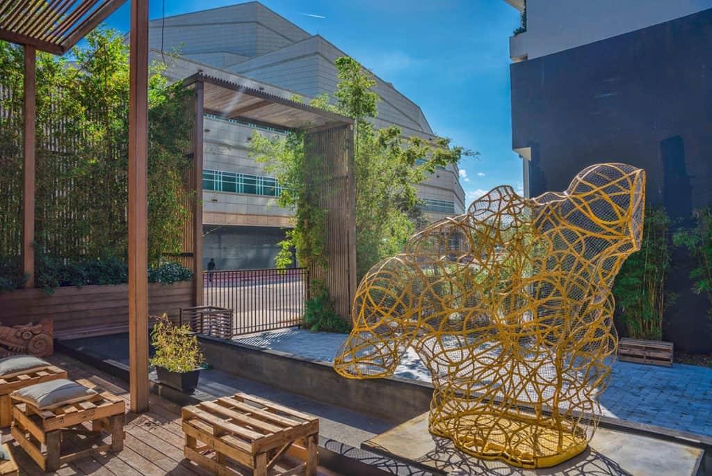 sculpture garden miami rental