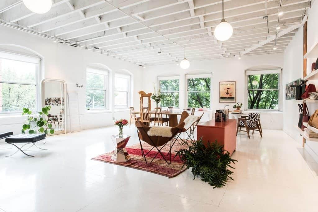 A creative daylight studio and gathering space portland rental
