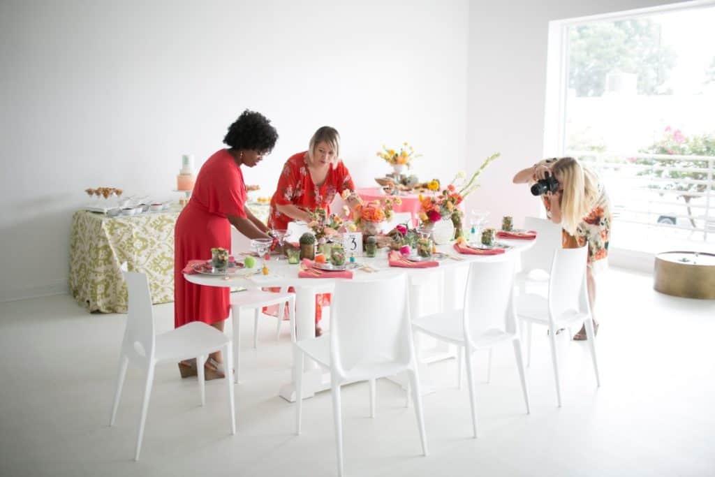 All-white Creative Event Space in Buckhead atlanta rental
