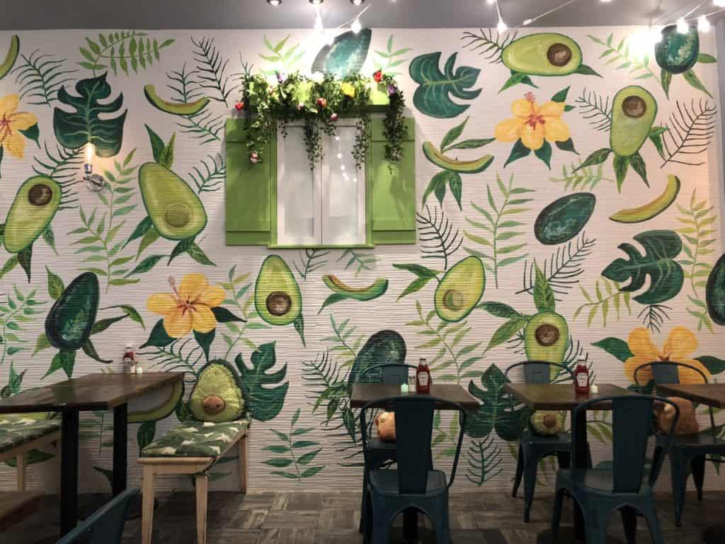 Avocado based restaurant and bar nyc new york city rental