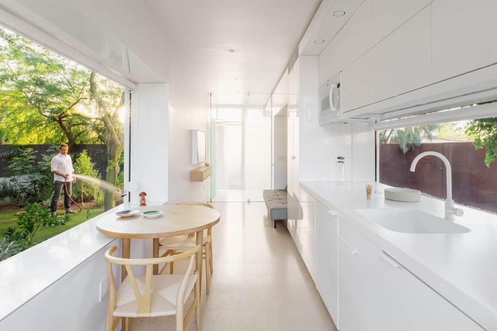 Award Winning Design, Modern Minimalist Guest House phoenix rental