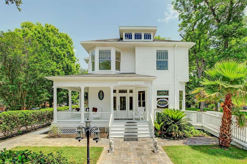 Beautiful Historic 1902 Heights property houston rental