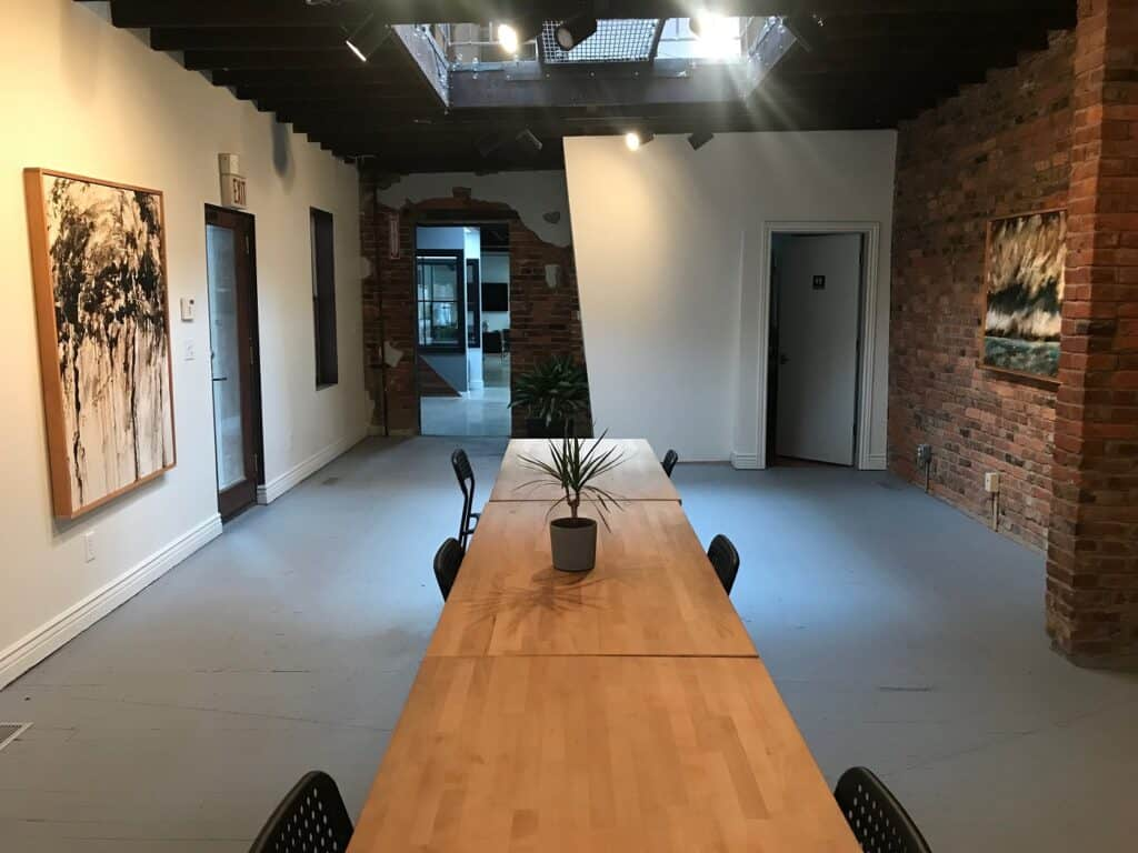 Brewery District Creative Agency Mixed Use Space columbus rental