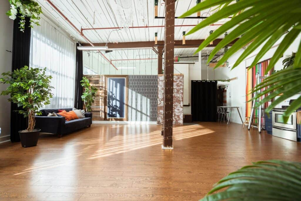 Bright Loft Style Space for Private Events toronto rental