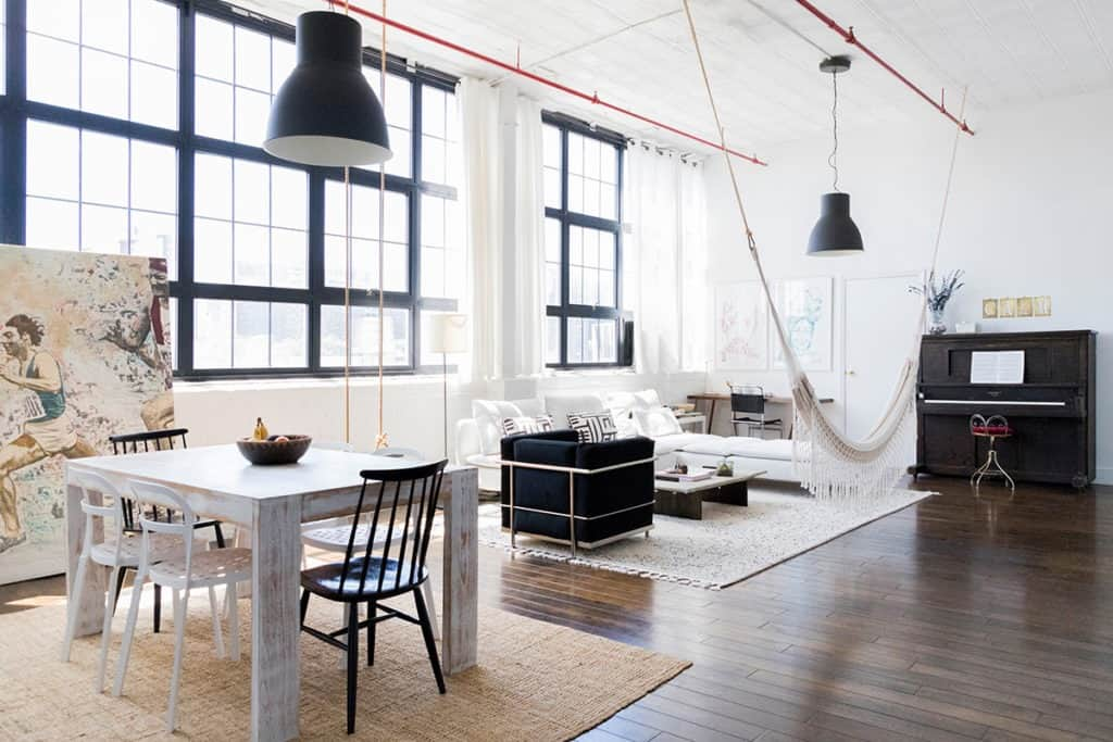Bushwick Loft with Natural Light and a Rooftop nyc new york city rental
