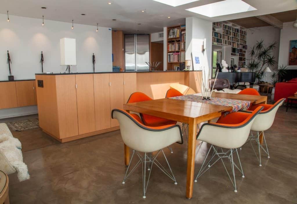 Classic Hilltop Mid-Century Modern Home san diego rental