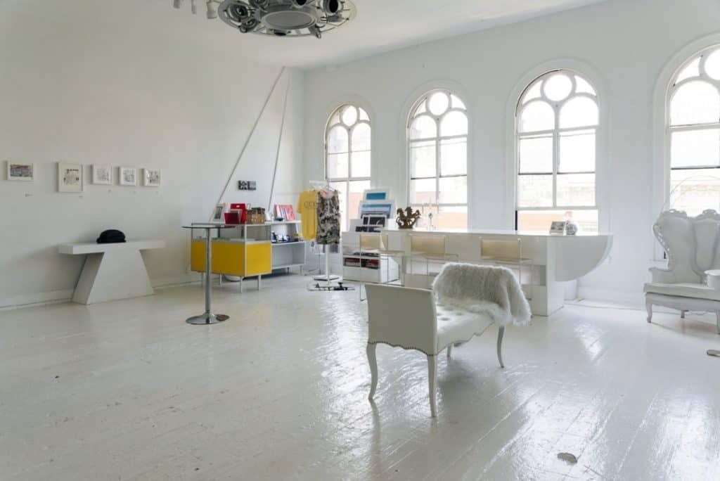 Contemporary Art Gallery Event Space philadelphia rental