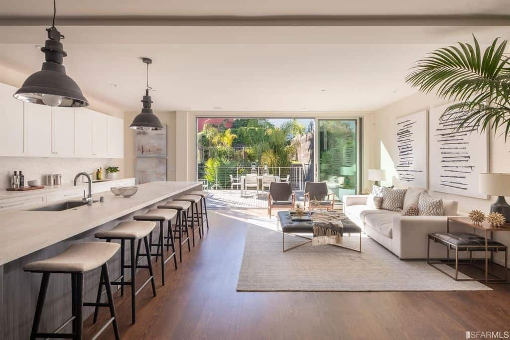 Contemporary Home With great light sf san francisco rental