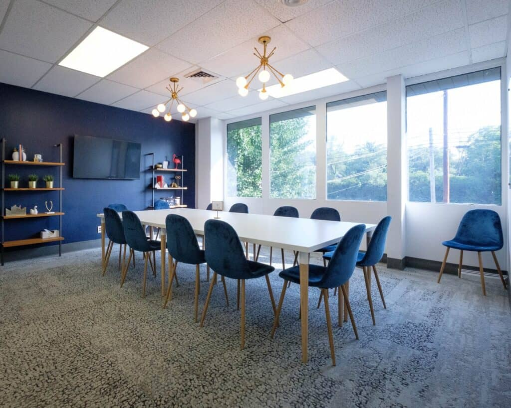 Convertible meeting room in UA with plentiful parking columbus rental