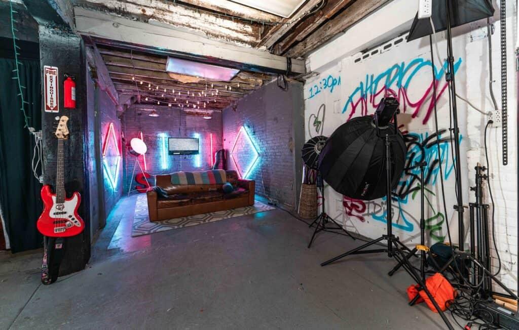 Creative Neon Studio Space (Photoshoots, Music videos, ect ) philadelphia rental