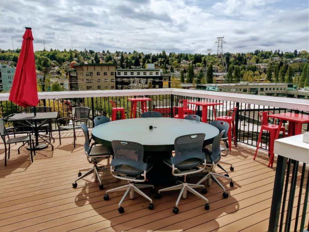 Creative Space with Rooftop Deck seattle rental