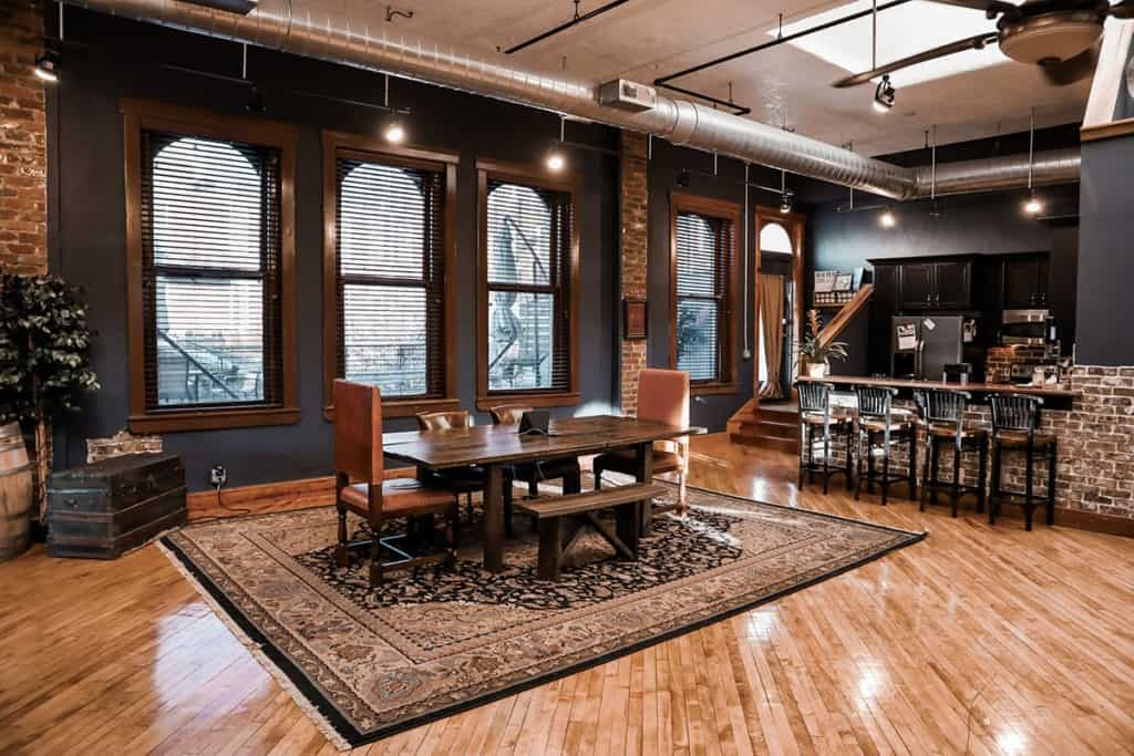 Downtown Loft New York Feel in renovated 1800's factory building nashville rental