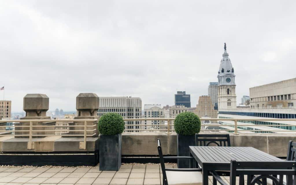 Downtown Rooftop Philadelphia rental
