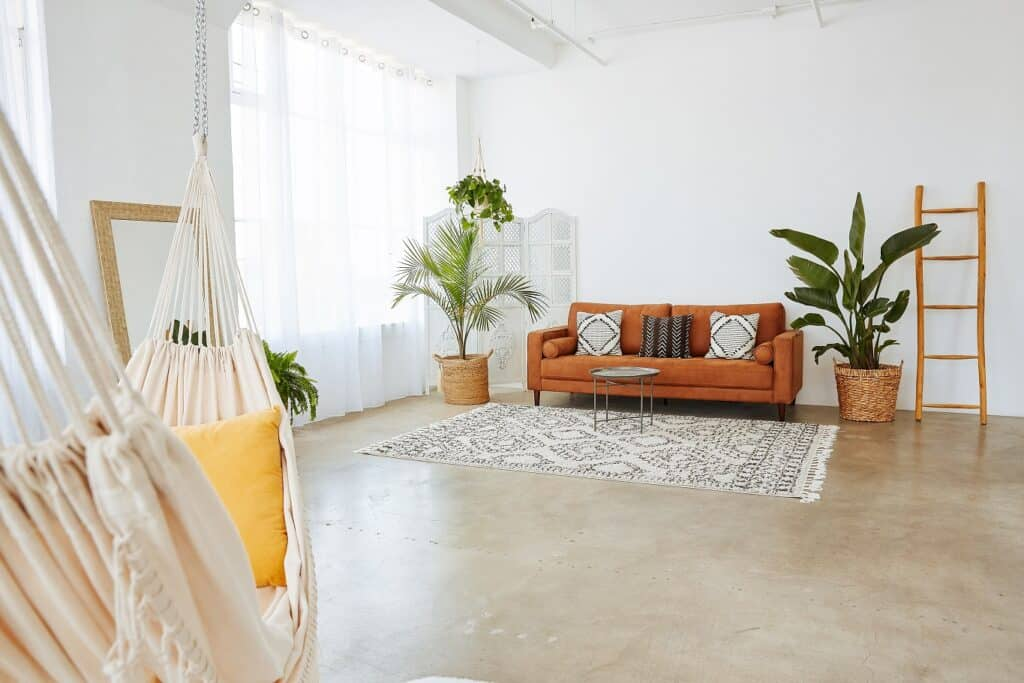 Dreamy Sun Drenched Bohemian Chic Loft With A Hammock los angeles rental