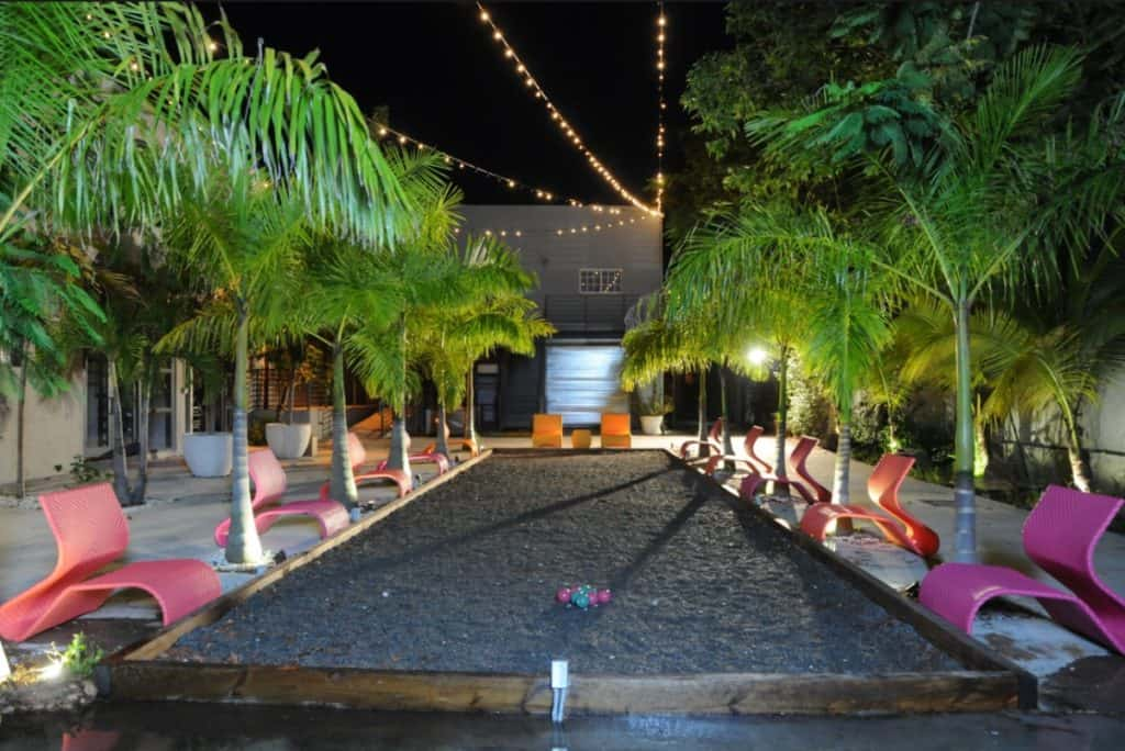 Electric Outdoor Space miami rental