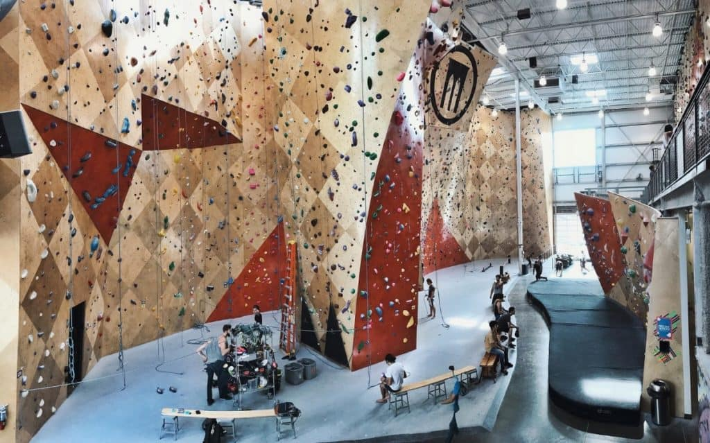 Exciting Rock Climbing chicago rental