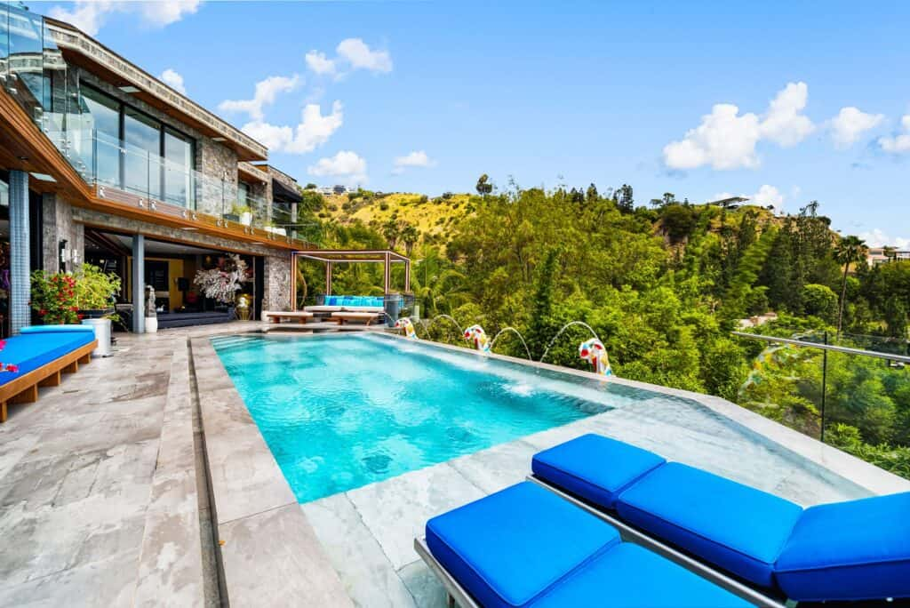 Forever Views,Modern and Artistic hollywood hills los angeles rental