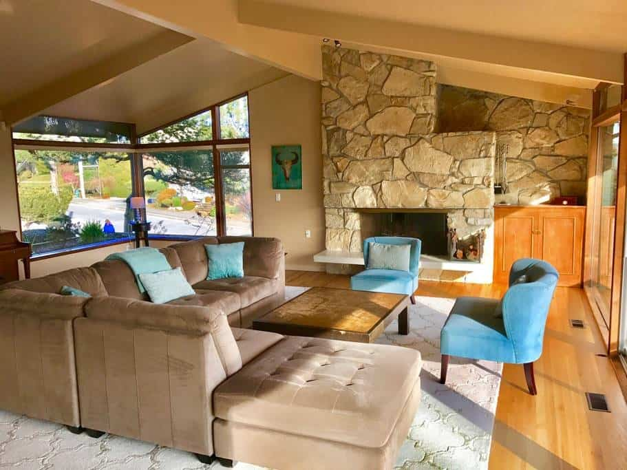Gorgeous Large Home with Rainier Views, Pool, Large Kitchen and Yard seattle rental