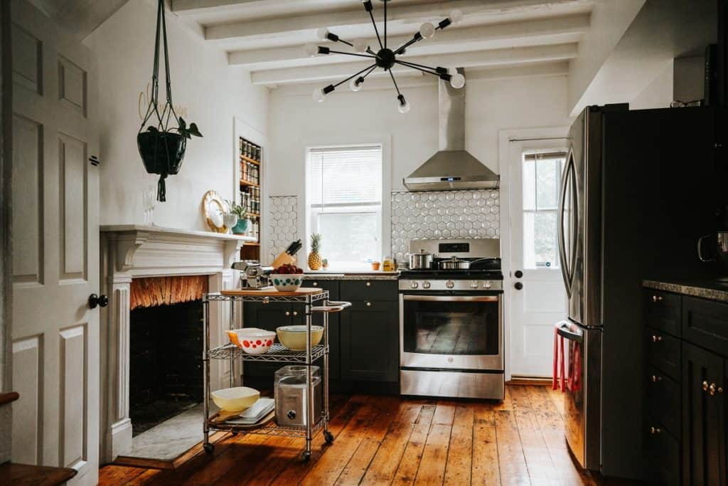 Hip Meets Historic Fells Point Rowhome baltimore rental