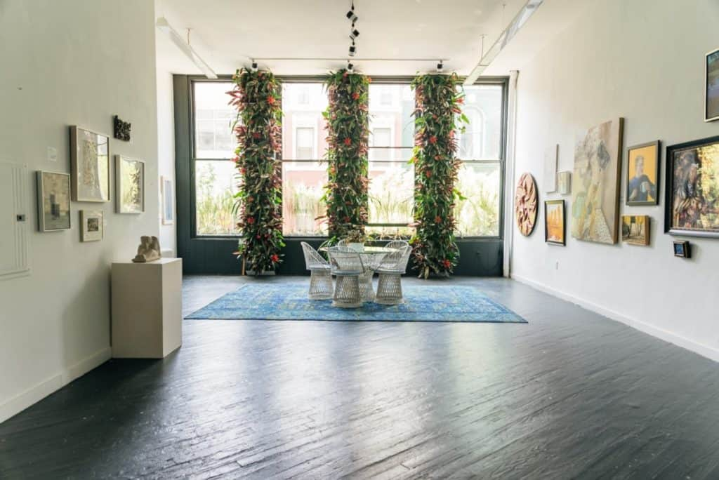 Horticultural Gallery Events Space philadelphia rental