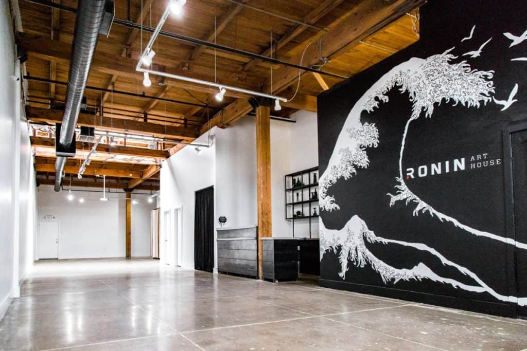 Industrial Arts Event Space in Downtown houston rental