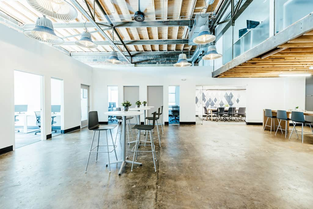 Industrial Chic Coworking and Meeting Space denver rental