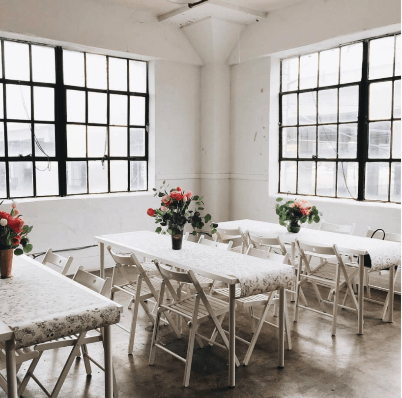 Industrial Natural Light Studio houston rental