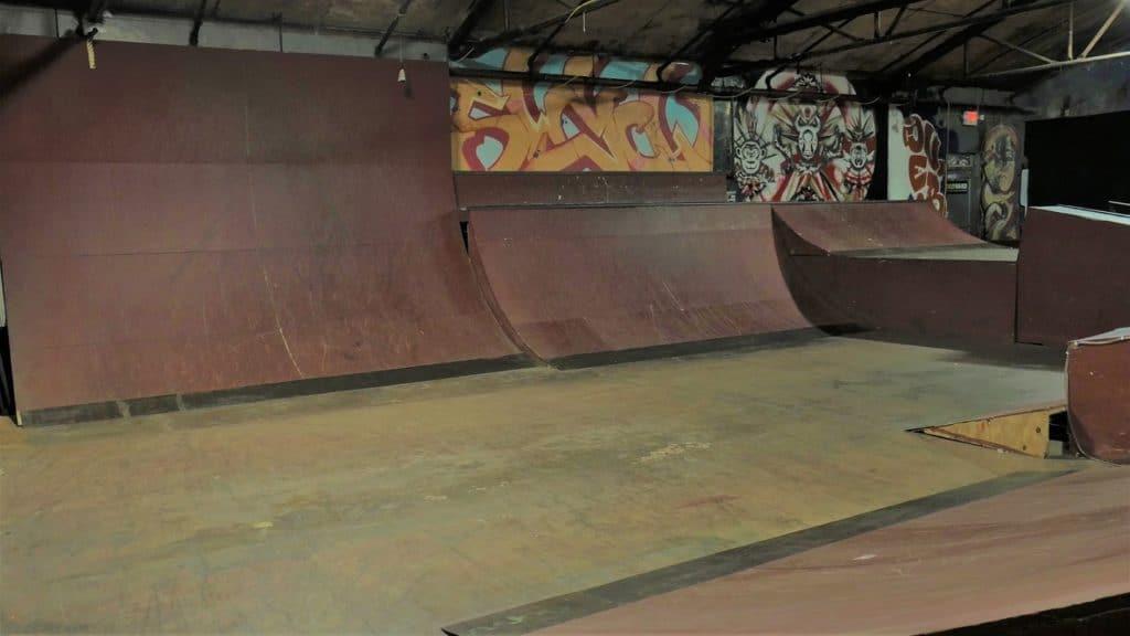 Industrial, Urban, Indoor Skate Park and Music Venue